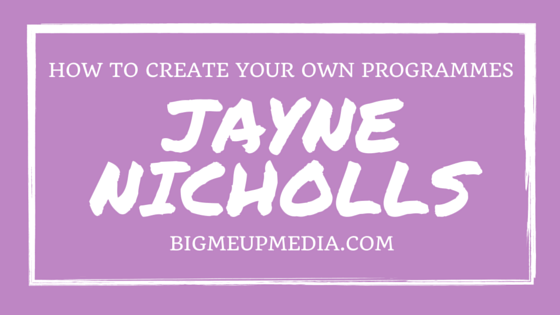 BMU 009: Creating Your Own Fitness Programme with Jayne Nicholls
