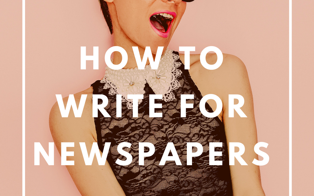 How To Write For Newspapers